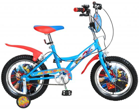 Велосипед двухколёсный Navigator Супермен 16 разноцветный ВН16121 велосипед двухколесный navigator superman 16