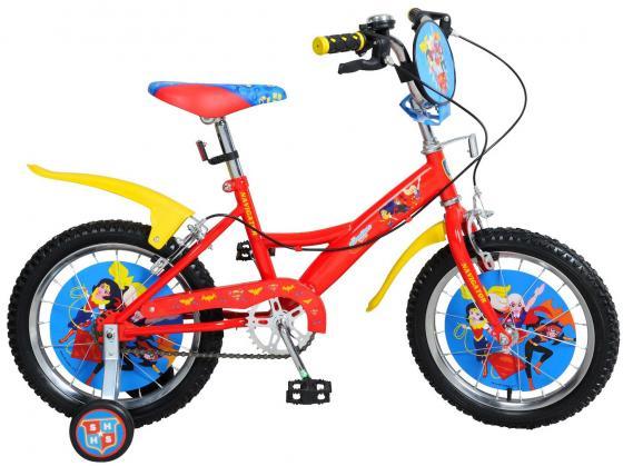 """Велосипед двухколёсный Navigator Super Hero Girls 18"""" разноцветный"""