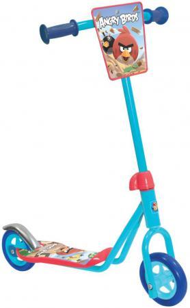 Самокат двухколёсный 1TOY Angry Birds 4 голубой