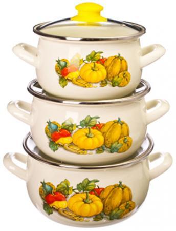 Набор посуды Interos 15204 Тыква поиск семена тыква марсельеза