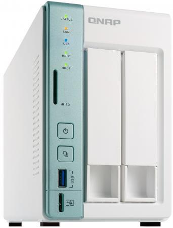 Сетевое хранилище QNAP TS-251A-2G рэковое сетевое хранилище rack nas qnap ts 451a 2g ts 451a 2g