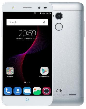 """Смартфон ZTE Blade V7 Lite серебристый 5"""" 16 Гб LTE Wi-Fi GPS 3G BLADEV7LITESILVER"""