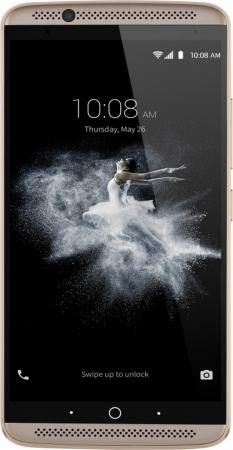 Смартфон ZTE AXON 7 золотистый 5.5 64 Гб LTE NFC Wi-Fi GPS 3G AXON7GOLD смартфон asus zenfone live zb501kl золотистый 5 32 гб lte wi fi gps 3g 90ak0072 m00140