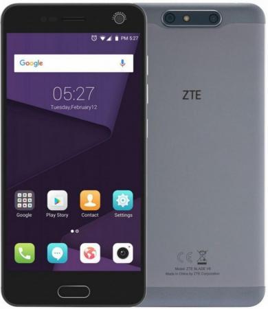Смартфон ZTE Blade V8 серый 5.2 32 Гб LTE Wi-Fi GPS 3G BLADEV8GRAY смартфон zte blade v8 mini 32gb gold