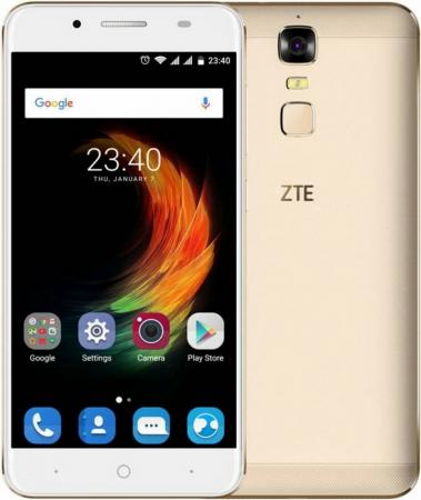 Смартфон ZTE Blade A610 Plus золотистый 5.5 16 Гб LTE Wi-Fi GPS 3G BLADEA610PLUSGOLD смартфон zte blade a610 gold