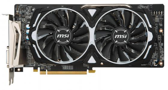 Видеокарта MSI Radeon RX 580 RX 580 ARMOR 8G OC PCI-E 8192Mb 256 Bit Retail видеокарта msi radeon rx 580 1340mhz pci e 3 0 8192mb 8000mhz 256 bit dvi 2xhdmi hdcp rx 580 armor 8g