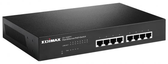Коммутатор Edimax ES-1008PH неуправляемый 8 портов 10/100Mbps коммутатор zyxel es 105a v3 es 105av3 eu0101f