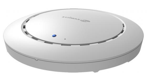 Точка доступа Edimax CAP1200 802.11ac 1167Mbps 2.4/5 ГГц белый точка доступа edimax oap900 802 11aс 866mbps 5 ггц 2xlan белый