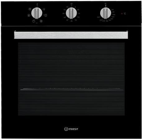 Электрический шкаф Indesit IFW 6530 BL черный электрический духовой шкаф indesit ifw 6530 wh white
