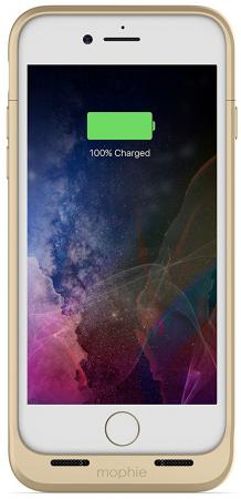 "все цены на  Чехол-аккумулятор Mophie ""Juice Pack Air"" для iPhone 7 золотой 3968  онлайн"