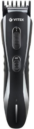 Триммер Vitek VT-2547 BK чёрный серебристый выпрямитель волос vitek vt 8402 bk 35вт чёрный