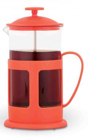 Френч-пресс Teco 1060P-TC-R красный 0.6 л пластик/стекло френч пресс teco tc p1035 350ml