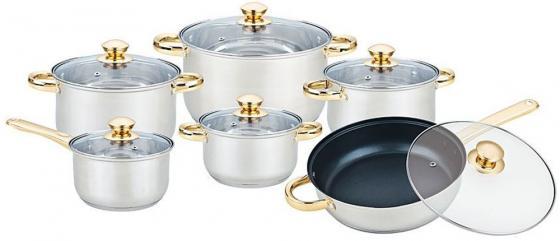 bekker набор посуды premium Набор посуды Bekker Premium BK-2717 12 предметов