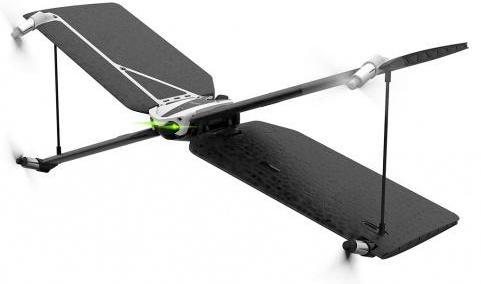 Квадрокоптер Parrot Minidrone Swing + контроллер  Flypad черный PF727013
