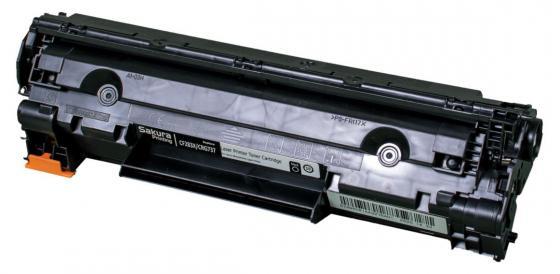 Картридж Sakura CF283X/737 для HP LJ ProM202dw//M225dn/dw/rdn/ M202n/ M201dw/n/M226dn/dw Canon i-SENSYS MF217w/MF211/MF212W/MF216N/MF226dw/MF227DW/MF229DW/MF224dw/MF222dw черный 2200стр