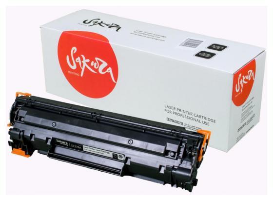 Картридж Sakura CE278A/CRG728 для HP LJ Р1566/Р1606W/M1536dnf MFP Canon iC MF4420/4430/4120/ 4412/4410/4452/4450/4550/4570/4580/D520 черный 2100стр lcl 728 crg728 3 pack black toner cartridge compatible for canon ic mf4410 4450 4412 4420 4550 4570 d520