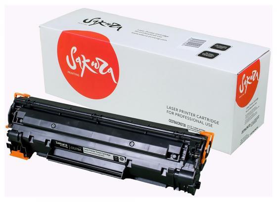 Картридж Sakura CE278A для HP laser Pro P1560/1636/1566/1600/1606 черный 2100стр