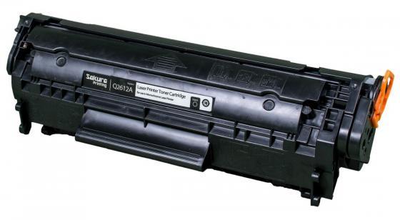 Картридж Sakura Q2612A для HP LJ 1010/1012/1015/1020/1022/3015/3020/3030 черный 2000стр картридж nv print q2612a для hp lj 1010 1020