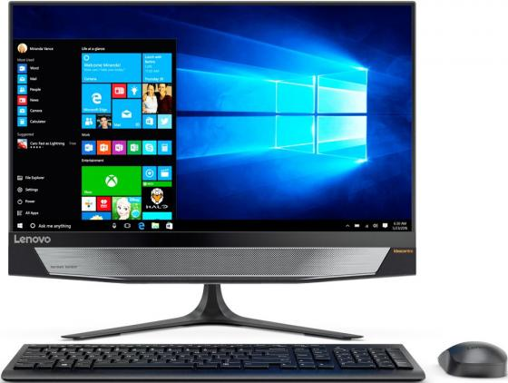 "Моноблок 23.8"" Lenovo IdeaCentre 720-24IKB 1920 x 1080 Intel Core i3-7100 4Gb 1Tb nVidia GeForce GTX 960А 2048 Мб Windows 10 Home черный F0CM0015RK"