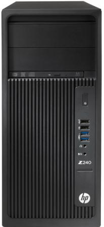 Системный блок HP Z240 MT i7-7700 3.6GHz 16Gb 512Gb SSD HD630 DVD-RW Win10Pro клавиатура мышь черный Y3Y81EA системный блок hp z440 e5 1650v4 3 2ghz 16gb 512gb ssd dvd rw win7pro win10pro клавиатура мышь черный t4k81ea