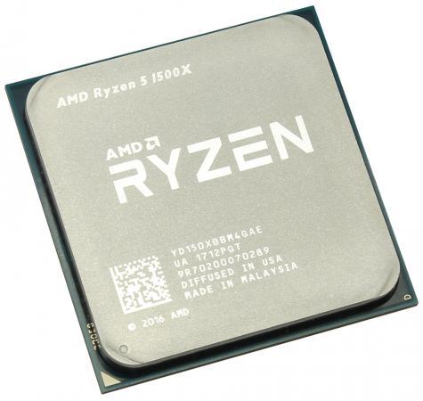 Процессор AMD Ryzen 5 1500X YD150XBBM4GAE Socket AM4 OEM видеокарта asus rog strix rx570 o4g gaming rx 570 4гб gddr5 retail
