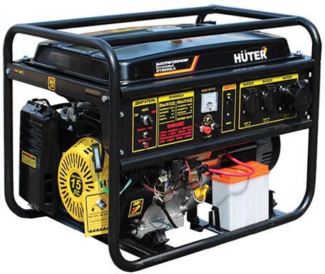 Генератор Huter DY8000LX-3 бензиновый