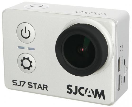 Экшн-камера SJCam SJ7 Star серебристый цена и фото