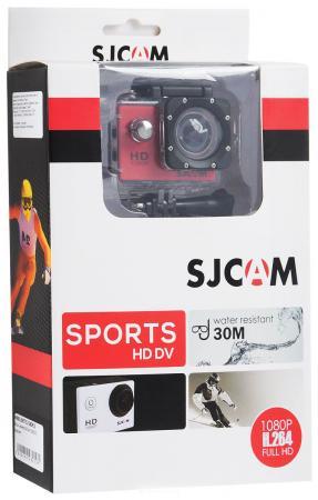Экшн-камера SJCAM SJ4000 красный от Just.ru