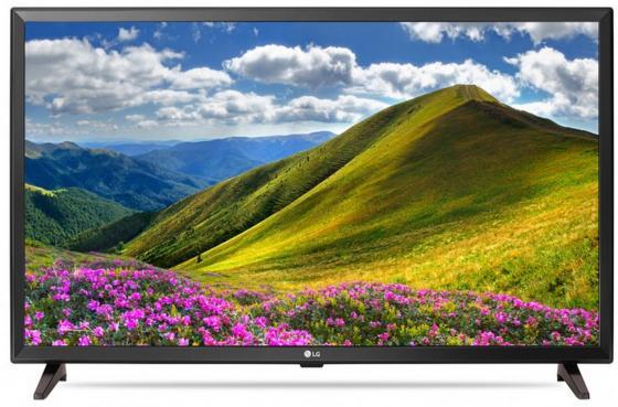 "Телевизор 32"" LG 32LJ610V черный 1920x1080 50 Гц Wi-Fi Smart TV RJ-45"