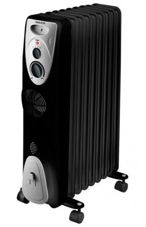 Масляный радиатор Marta MT-2420 2000 Вт чёрный радиатор масляный marta mt 2421