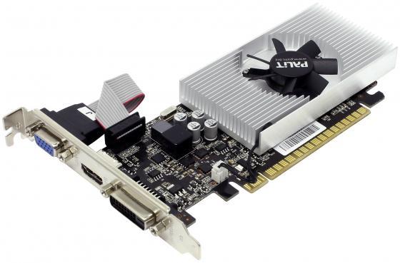 Видеокарта 2048Mb Palit GeForce GT730 PCI-E DVI HDMI HDCP PA-GT730K-2GD5H NE5T7300HD46-2081F Retail видеокарта 2048mb asus geforce gt730 с cuda pci e 64bit gddr5 dvi hdcp hdmi gt730 sl 2gd5 brk retail