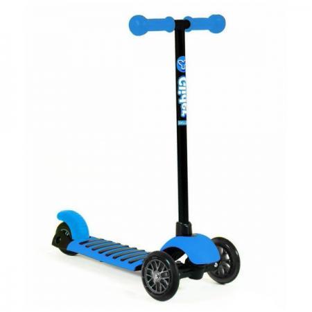 Самокат трехколёсный GLIDER MINI blue 12/8 голубой беговелы y bike y velo balance bike