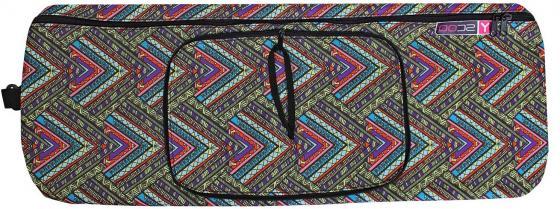 Чехол-портмоне Y-SCOO для самоката 125 - Этно рисунок складной разноцветный цена и фото