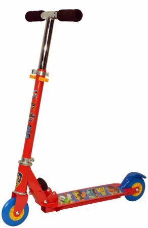 """Самокат двухколёсный Navigator Hot Wheels 2 4"""" разноцветный самокат 1 toy т59542 hot wheels"""