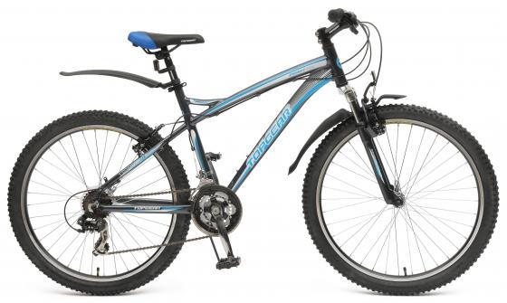 Велосипед двухколёсный Top Gear Energy 26 серо-голубой 410AL ВН26381 energy