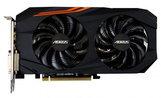 Видеокарта GigaByte Radeon RX 570 GV-RX570AORUS-4GD PCI-E 4096Mb 256 Bit Retail цена 2017