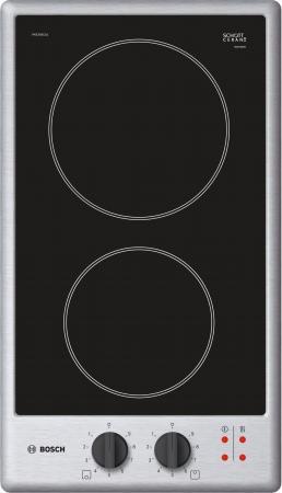 Варочная панель электрическая Bosch PKE345CA1 черный дрель электрическая bosch psb 500 re 0603127020 ударная