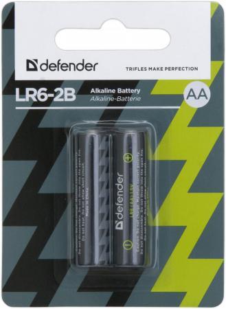Батарейки Defender 56013 AA 2 шт батарейки defender 56032 c 2 шт