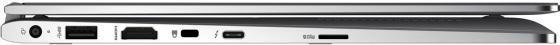 """Ноутбук HP EliteBook x360 1030 G2 13.3"""" 1920x1080 Intel Core i5-7200U 128 Gb 8Gb Intel UHD Graphics 620 серебристый Windows 10 Professional 1EM83EA"""