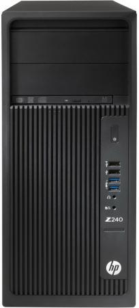 Купить со скидкой Системный блок HP Z240 i5-7600 3.5GHz 8Gb 1Tb HD630 DVD-RW Win10Pro клавиатура мышь черный Y3Y76EA