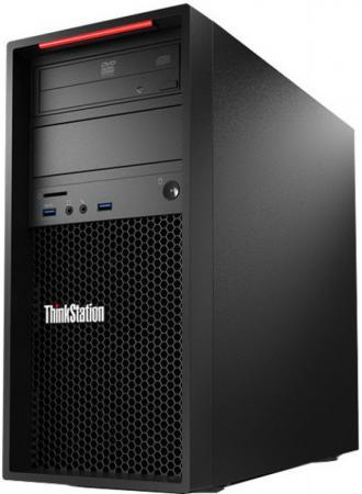 Системный блок Lenovo ThinkStation P410 E5-1650v4 3.6GHz 8Gb 1Tb DVD-RW DOS клавиатура мышь 30B2S0QE00 системный блок lenovo s200 mt j3710 4gb 500gb dvd rw dos клавиатура мышь черный 10hq001fru