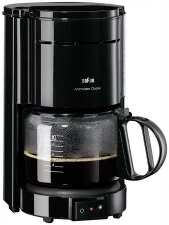 Кофеварка Braun KF47/1 чёрный щипцы braun st 550 mn чёрный