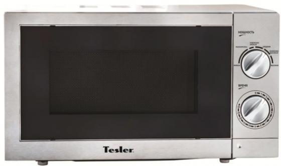 Микроволновая печь TESLER MM-2055 700 Вт серый свч tesler mm 2035 700 вт белый