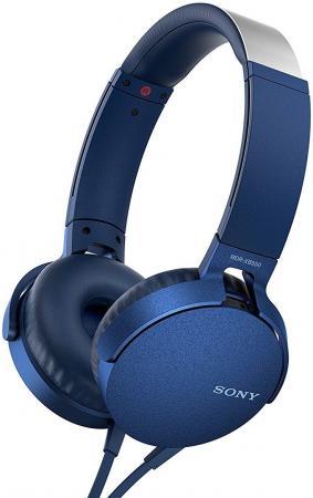 Наушники SONY MDRXB550APL.E синий