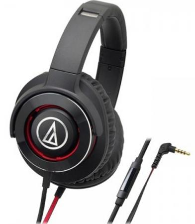 Гарнитура Audio-Technica ATH-WS770iS BRD черный technica audio technica ath dsr7bt беспроводной bluetooth гарнитура hifi наушники черный