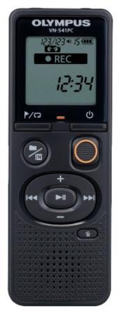 лучшая цена Цифровой диктофон Olympus VN-541PC 4Гб черный