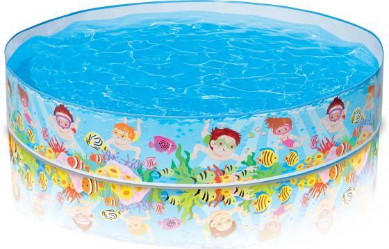 Надувной бассейн Intex с56451 в ассортименте надувной бассейн intex бассейн аквариум 152 56см