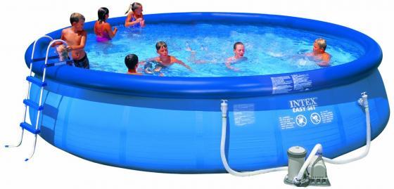 Надувной бассейн Intex Easy Set бассейн надувной intex easy 28144 56930