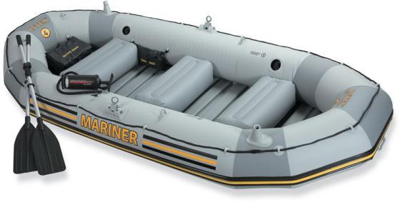 Надувная лодка INTEX Mariner 4 (68376) intex надувная лодка explorer pro 300 intex