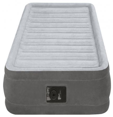 Надувной матрас INTEX Комфорт-плюш с67766 кровать intex comfort plush со встроенным насосом 220в intex 67766